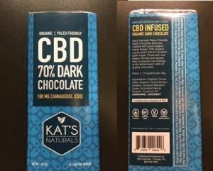 $9.99 Cbd Dark Chocolate Bar