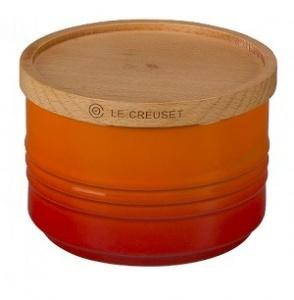 $35.00 Canister W/Lid 22Oz Flame