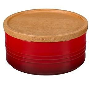 $42.00 Canister W/Lid 23Oz Red