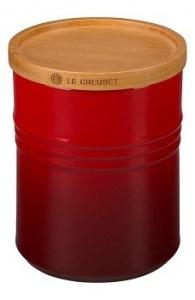 $62.00 Canister W/Lid 2.5Qt Red
