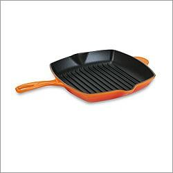"""$185.00 Sq Skillet Grill 10.25"""" Flame"""