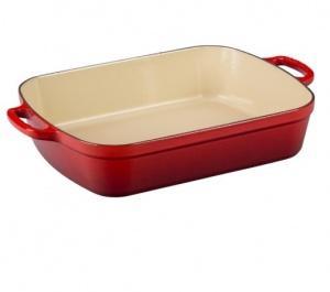 $255.00 Roasting Pan 5.25 Qt Red