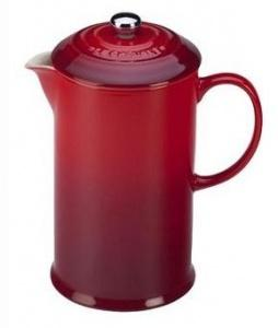$75.00 French Press Red