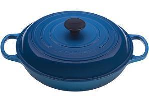 $360.00 Braiser Sig. 5Qt Marseille Blu