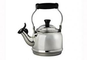 $100.00 Stainless Kettle Demi 1.25Qt
