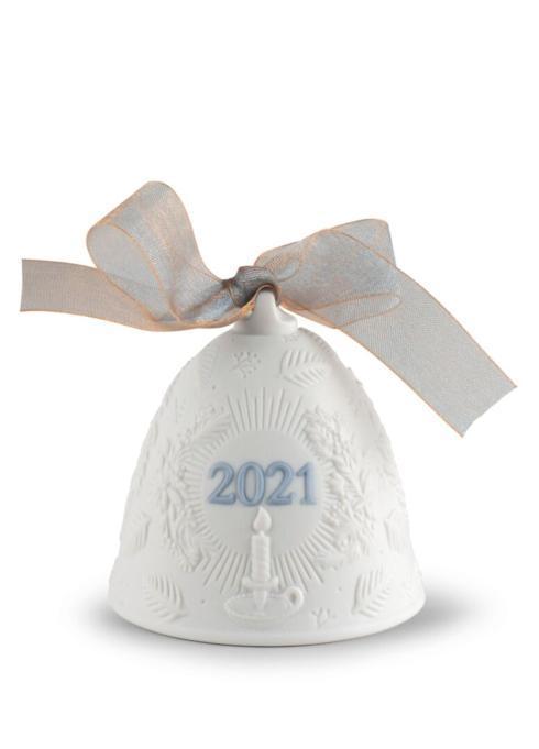 $75.00 2021 Christmas bell (original matte blue)