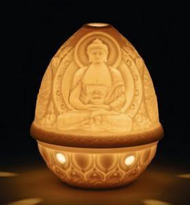 $85.00 Buddha Lithophane Votive Light