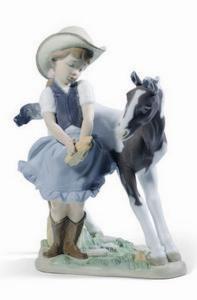 $750.00 Cowgirl 8.75 X 7.25