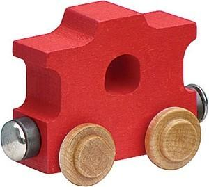 $5.85 Name Trains Bright Caboose Red