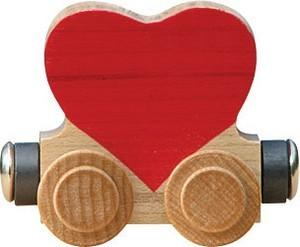 $5.85 Train Heart Car