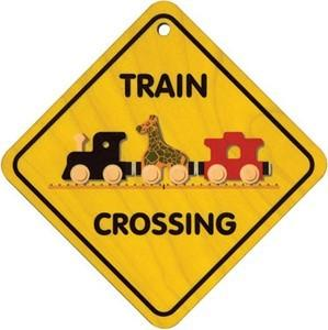$9.50 Train Crossing Sign