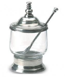 $151.00 Condiment Jar W/Spoon