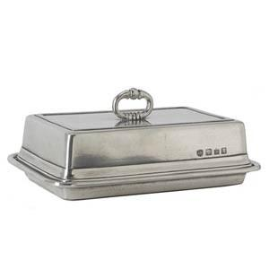 $270.00 Double Butter Dish & Cover