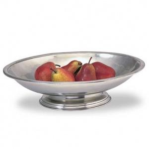 $685.00 Footed Oval Centerpiece Bowl