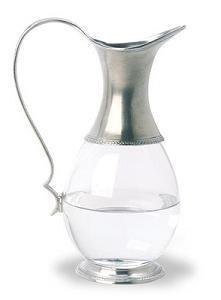 $315.00 Glass Pitcher With Handle