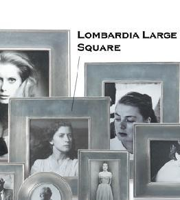 "$220.00 Lombardia Frame 5"" Square"