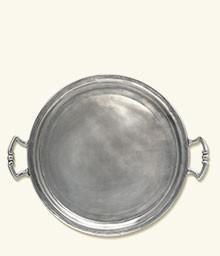 $420.00 Traditinal Round Tray W/ Handl