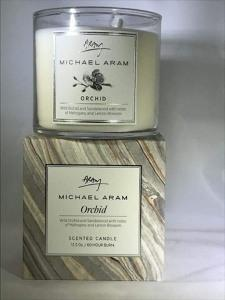 $40.00 Michael Aram Orchid Scented Glass Candle Jar Refill