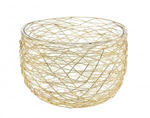 Godinger   Nest Gold Salad Bowl $74.99