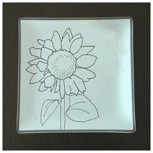 "$39.99 Plate with purpose  9"" Sunflower"