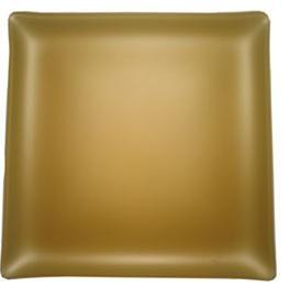 """$48.00 Square 11"""" Plate Gold"""