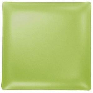 "$48.00 Square 11"" Plate Citron"