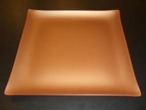 """$48.00 Square 11"""" Plate Copper"""
