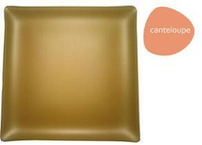 """$40.00 Square 11"""" Plate Cantelope"""