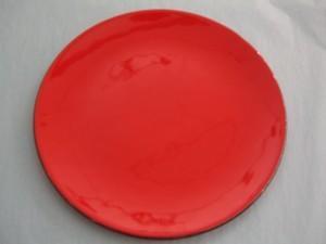"""$40.00 Patent Round 10"""" Red"""