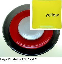 "$52.00 Patent Round 13"" Yellow"