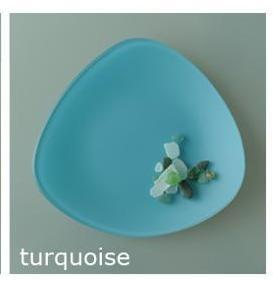 """$26.00 Triangle 7"""" Turquoise"""