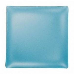 """$84.00 Square 14"""" Plate Turquoise"""