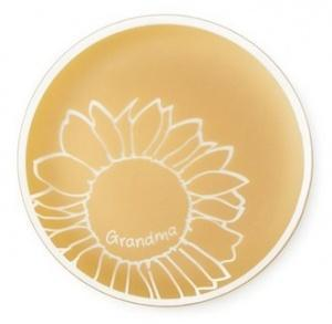 $85.00 Sunflower Plate Grandma