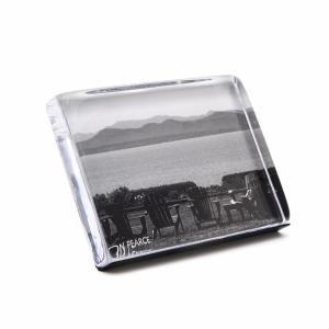 "Simon Pearce  Picture Frames Woodbury Horizontal Photo Block 4X6""  $150.00"