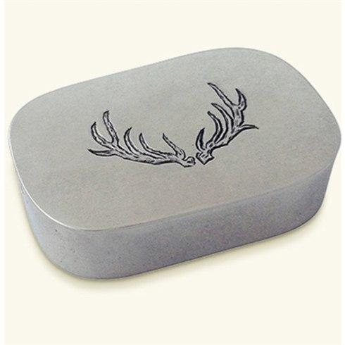 $180.00 Simple Covered Antler Box