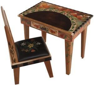 $3,252.00 Desk & Chair Lthr 24X36X30 -5