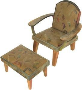 $4,546.00 Friedrich\'S Chair/Ottoman - 1