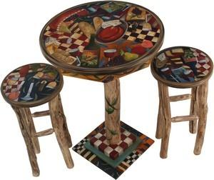 """$2,644.00 Bar Height Table 36"""" Wx42"""" H -31"""