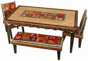 """$4,410.00 Dining Table 6\'X42"""" Wx30"""" H - 19"""