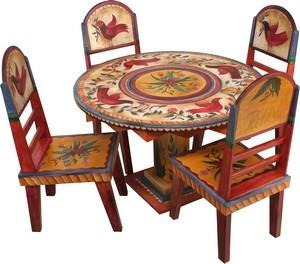 """$3,533.00 Dining Table Round 48X30"""" H -5"""