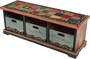 $3,025.00 Bench W/Boxes 50X16.5 - 1