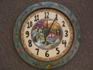 "$1,362.00 Clock Wall 24"" Round 1"