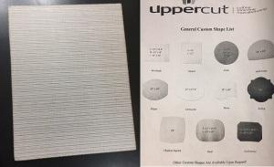 Uppercut   NY Sequence Natural LG Rectangle Tablemat $37.40
