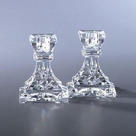 "$180.00 Waterford Lismore 4"" Candlesticks Pair"