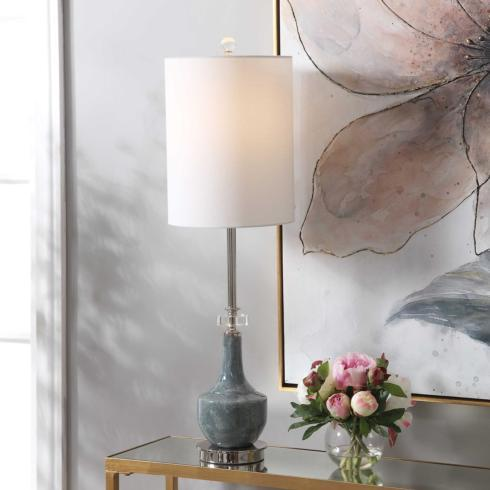 $255.00 PIERS BUFFET LAMP 33H