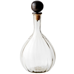 $315.00 BALLIN DECANTER WITH HAND BLOWN GLASS