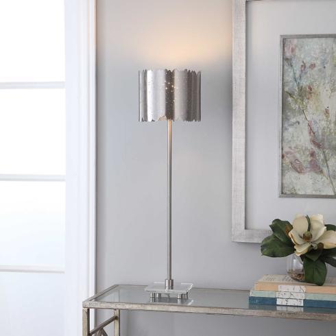 $325.00 BARADLA BUFFET LAMP