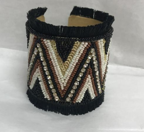 $18.00 SANTAMARIA CUFF BLACK