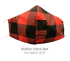 $12.50 BUFFALO CHECK RED FACE MASK