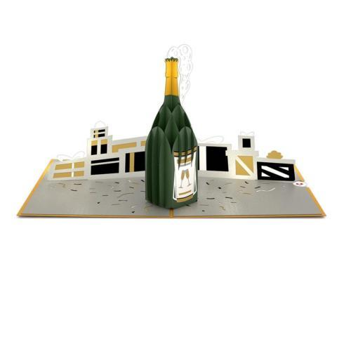 $13.00 Champagne Celebration 3D card